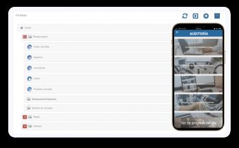 Todo lo que hacen los usuarios se va a reflejar en tiempo real o después de sincronización para el caso del modo offline.