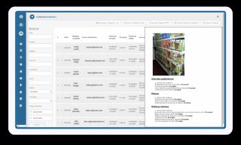 Descarga y recibe reportes (Excel, PDF y HTML) evidenciales detallados con fotografías, evidencias, firmas y otros componentes que te revelarán el detalle completo de tus operaciones y auditorías.